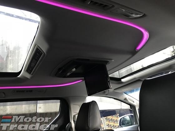 2015 TOYOTA ALPHARD 2.5 S 7 SEAT ALPINE SOUND POWER BOOT LEATHER SEAT 2015 JAPAN UNREG