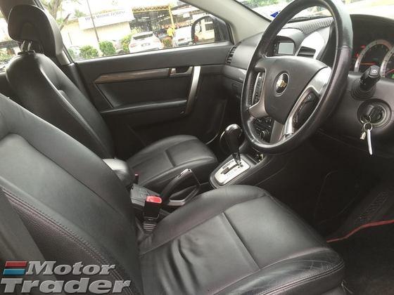 2008 CHEVROLET CAPTIVA 2.0 (A) DIESEL SUV TURBO AWD SPEC
