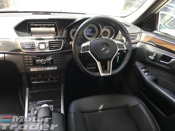 2014 MERCEDES-BENZ E-CLASS E250 2.0 AMG Sport 4 Surround Camera Distronic Push Start Button Memory Seat Intelligent LED Light