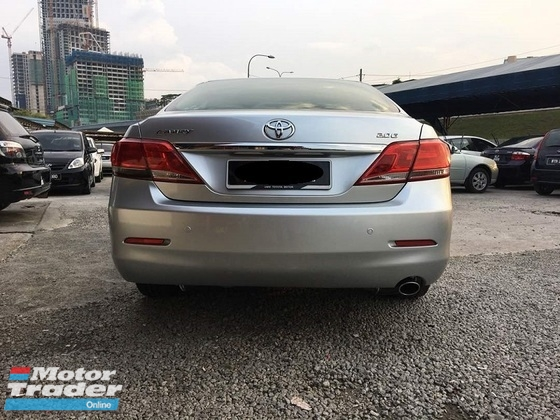 2012 TOYOTA CAMRY 2012 Toyota Camry 2.0 G (A) Leather seats