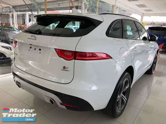 2016 JAGUAR F-PACE S 3.0 AWD High Spec UK Demo Car