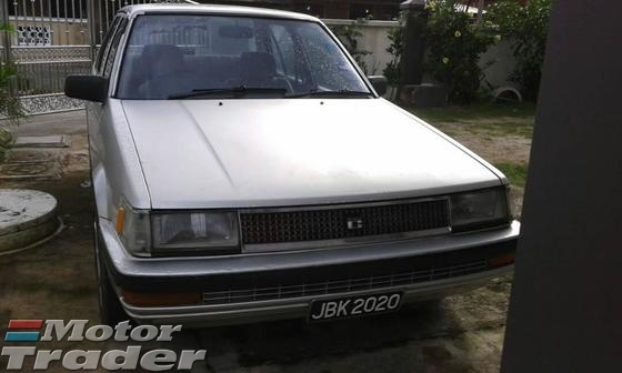 1987 TOYOTA COROLLA XE SALOON LIMITED