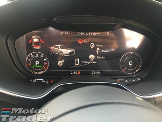 2015 AUDI TT 2.0 TFSI