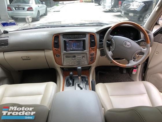 2004 TOYOTA LAND CRUISER 4.2 Diesel Turbo Sunroof Airmatic Electronic Seats