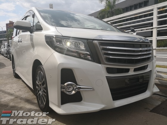 2015 TOYOTA ALPHARD SC FULLY LOADED AEROTOURER FRONT GRILL