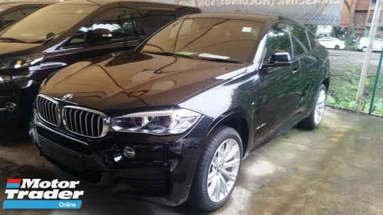 2015 BMW X6 M-Sport 40D 3.0 Diesel Power Boot Sunroof Rear Camera Unreg Local AP