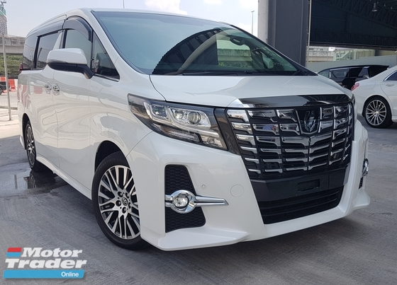 2015 TOYOTA ALPHARD 350S C PACKAGE