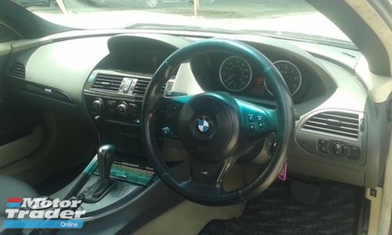 2009 BMW 6 SERIES  630i 630 Ci 3.0 (A) M-SPORT