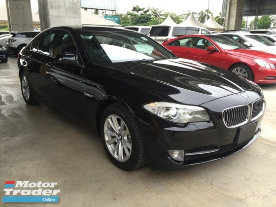 2013 BMW 5 SERIES 520i 523i 2.0 Twin Power Turbo Sport Plus Comfort Memory Seat Keyless Smart Entry Reverse Camera
