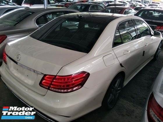 2014 MERCEDES-BENZ E-CLASS 2.0 AMG PANAROMIC ROOF