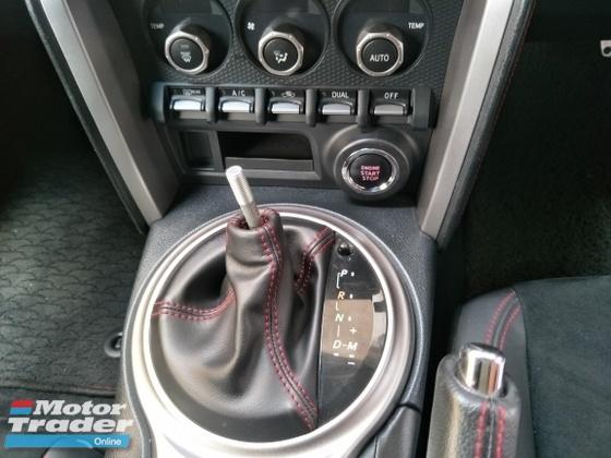 2014 TOYOTA 86 GT86 2.0 200HP PUSH START KEYLESS
