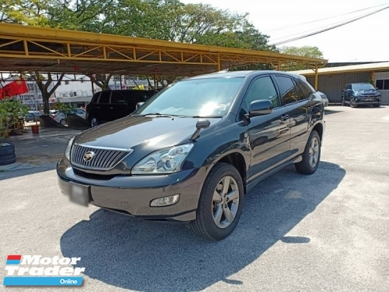 2005 TOYOTA HARRIER 240G PREMIUM L PACKAGE, TOWN USED, FAMILY USED, LIKE NEW, FULL SPEC, 4X4, LEATHER, PJ LOCATION, POWER BOOT