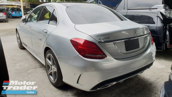 2015 MERCEDES-BENZ C-CLASS AMG FULL SPEC UNREG