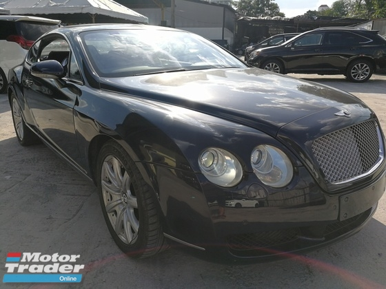 2005 BENTLEY GT 2 DOOR COUPE MAINTAIN WELL LOCAL BENTLEY NEW CAR