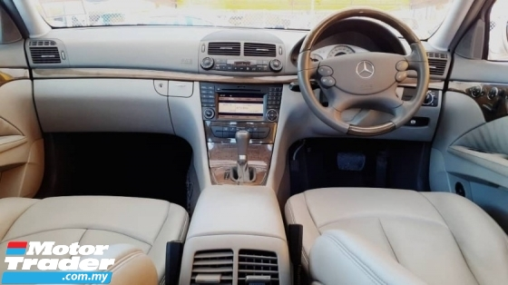 2010 MERCEDES-BENZ E-CLASS  2.5 ( A ) V6 SPORT EDITION !! HIGH SPECS MODEL !! W211 AVANTGARDE MODEL !! ( VXX 7134 ) 1 CAREFUL OWNER !!