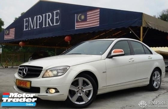 2010 MERCEDES-BENZ C-CLASS C230 2.5 ( A ) AVANTGARDE EDITION LOCAL ASSEMBLE !! MODEL W204 !! ( AXX 39 ) 1 CAREFUL OWNER !!
