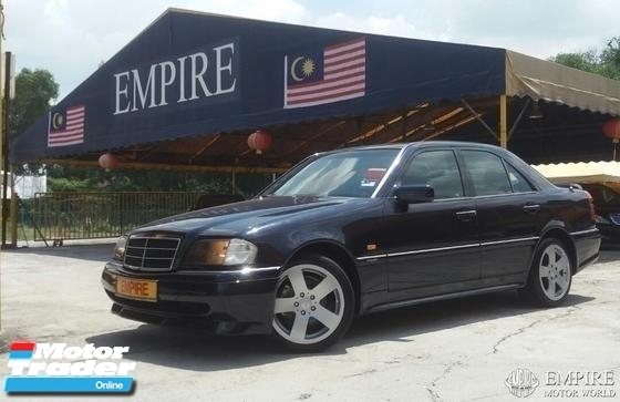 1997 MERCEDES-BENZ C-CLASS C180 1.8 ( A ) ELEGANCE EDITION !! MODEL W202 !! ( KX 9880 X ) 1 CAREFUL OWNER !!