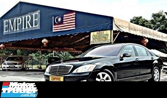 2009 MERCEDES-BENZ S-CLASS S300L 3.0 ( A ) LONG WHEEL BASE !! PREMIUM EDITION NEW FACELIFT !! ( WXX 7372 ) 1 CAREFUL OWNER !!