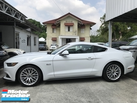 2015 FORD MUSTANG 5.0L GT FIRST EDITION UNREG WHITE