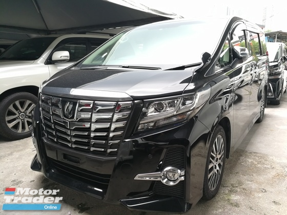2016 TOYOTA ALPHARD 2.5 SC EDITION SUNROOF PILOT SEAT WARRANTY 1 YEAR UNREG