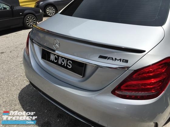 Mercedes benz W205 AMG spoiler W205 carbon fiber spoiler  Exterior & Body Parts > Car body kits
