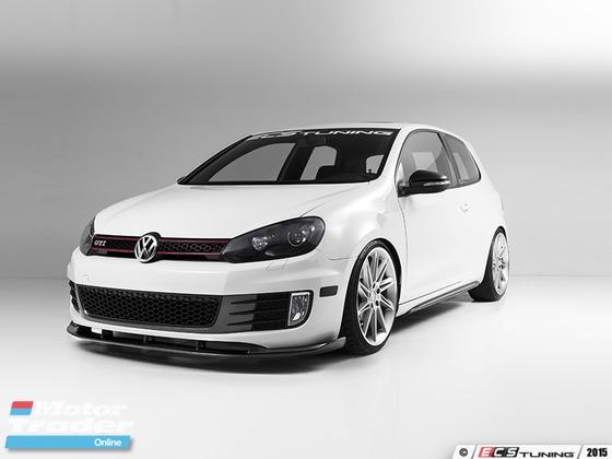 VW Golf MK6 Carbon fiber ECS front lip  Exterior & Body Parts > Car body kits