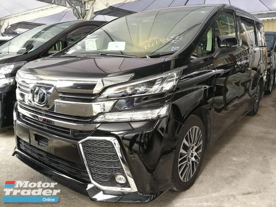 2016 TOYOTA VELLFIRE 2.5 ZG PILOT SEATS HIGH SPEC FREE 1 YEAR WARRANTY UNREG