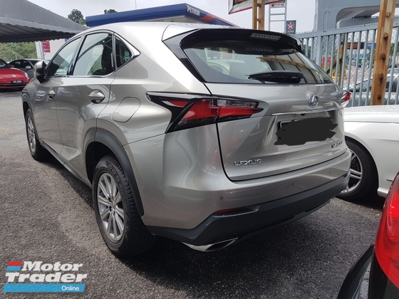 2015 LEXUS NX 200T (ACTUAL YEAR MAKE 2015) FULL SERVICEW RECORD