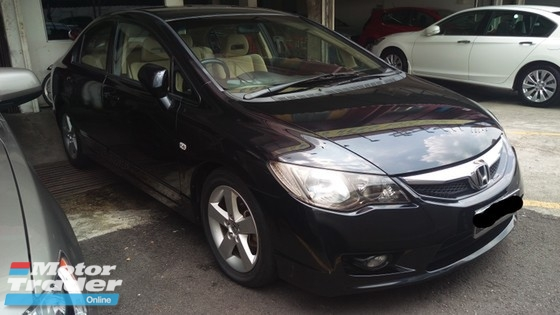 2010 HONDA CIVIC 1.8 New Facelift TRUE YEAR MADE 2010 NO GST Ivtec engine