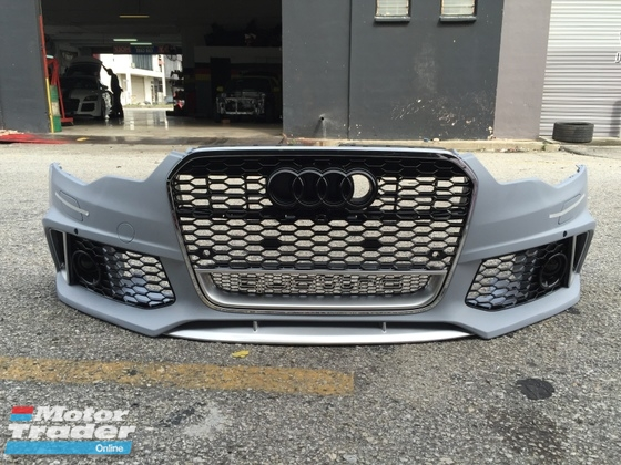 Audi A7 Front bumper complete with Front grill Exterior