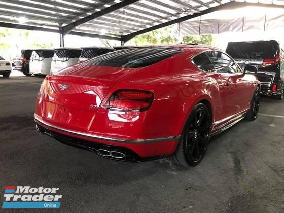 2016 BENTLEY GT V8S SAVE 60K NO GST RAYA PROMO