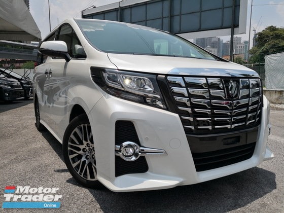 2015 TOYOTA ALPHARD 2.5 SC FULL SPEC FULL LEATHER