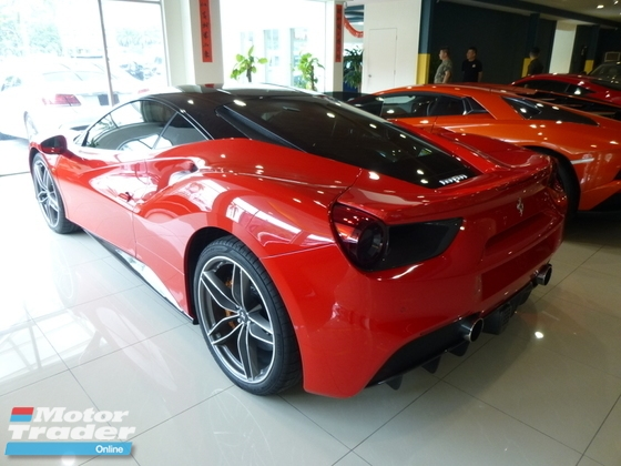2017 FERRARI 488 GTB 3.9 V8 Twin Turbo Fully Loaded. Price NEGOTIABLE. Provide WARRANTY. Provide After SALE Service