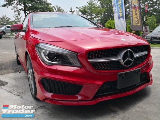 2014 MERCEDES-BENZ CLA 180 AMG JAPAN