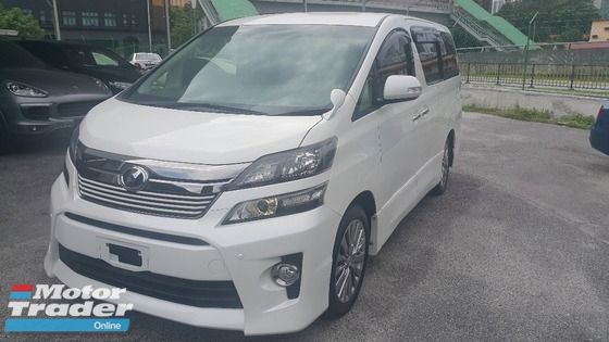 2013 TOYOTA VELLFIRE Z Golden Eyes
