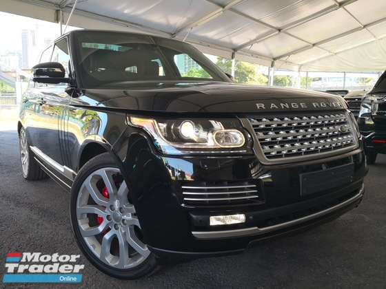 2014 LAND ROVER RANGE ROVER VOGUE 5.0 V8