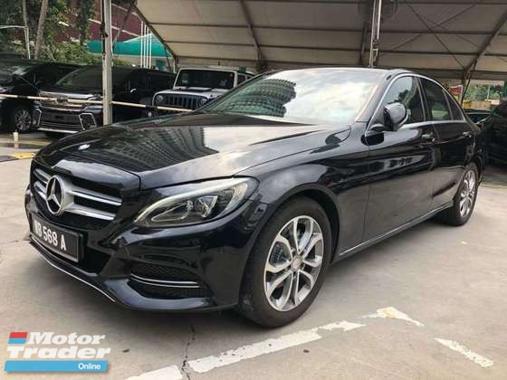 2014 MERCEDES-BENZ C-CLASS C200 CKD LOCAL TIP TOP CONDITION.