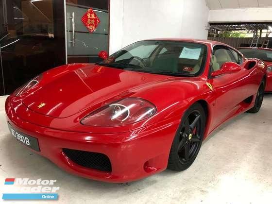 2004 FERRARI 360 Modena Coupe