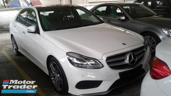2014 MERCEDES-BENZ E-CLASS Mercedes benz e250 amg sport unregistered