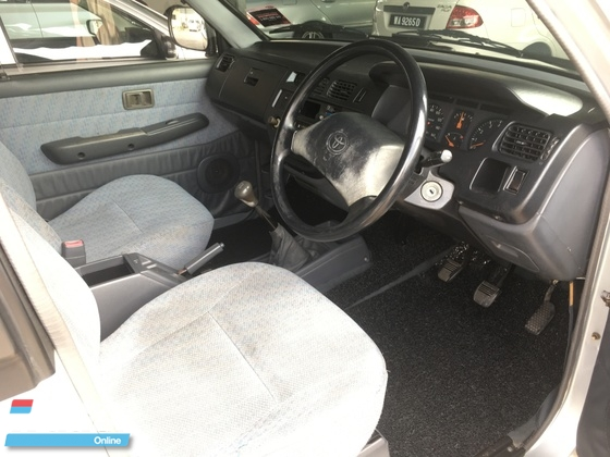 2000 TOYOTA UNSER manual