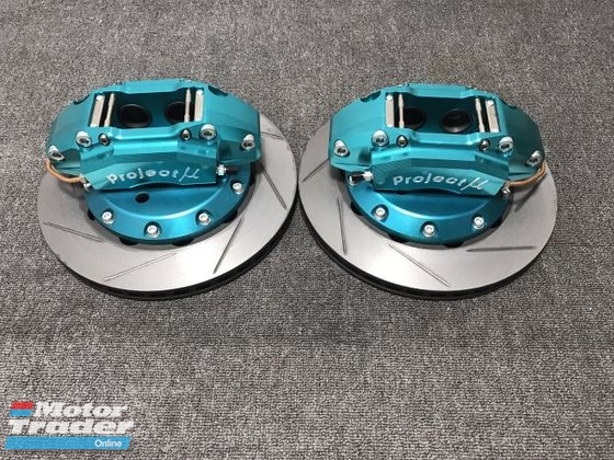 Project Mu 285mm Honda Jazz GkCity Gm6 Performance Part > Brake System