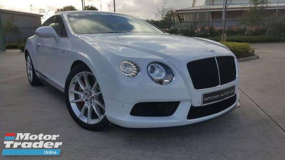 2015 BENTLEY CONTINENTAL GT V8S 4.0 Unreg
