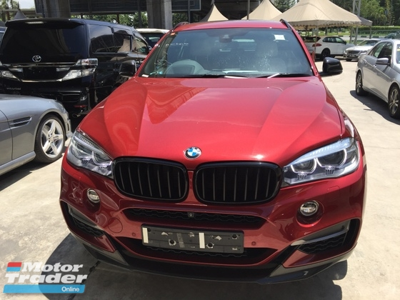 2015 BMW X6 50D