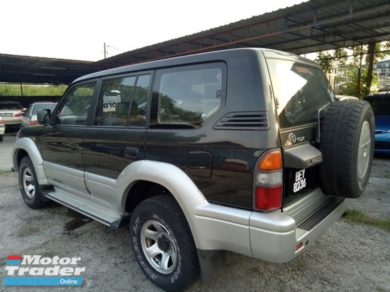 1996 TOYOTA PRADO TOYOTA LANDCRUISER 2.7 PRADO MANUAL 1 OWNER