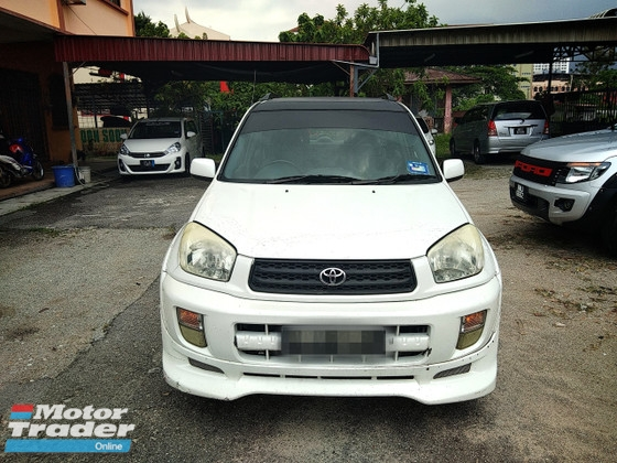 2001 TOYOTA RAV4 2.0 FULL Spec(AUTO)2001.02 Only 1 UNCLE Owner LOW Mileage TIPTOP SUNROOF  2 AIRBEGs