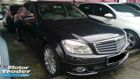 2010 MERCEDES-BENZ C-CLASS C200 CGI Turbo Local TRUE YEAR MADE 2010 NO SST FREE 1 YEAR WARRANTY Full Service Cycle