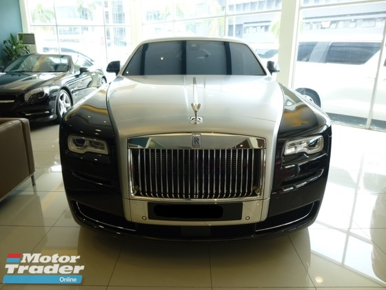 2017 ROLLS-ROYCE GHOST 6.6L Series II Extended Wheel Base NEW Car Condition. LIM 017.3683339