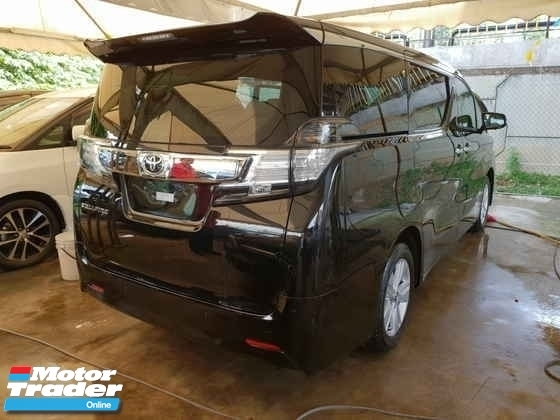 2016 TOYOTA VELLFIRE 2.5 8 Seater 2 Power Door Power Boot Local AP Unreg