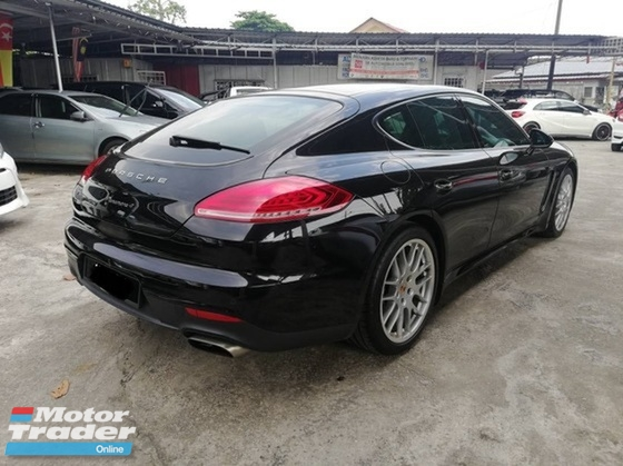 2013 PORSCHE PANAMERA PORSCHE PANAMERA 4 3.6 LOCAL NEW FACELIFT FULL SPEC UNDER WARRANTY PORSCHE MALAYSIA