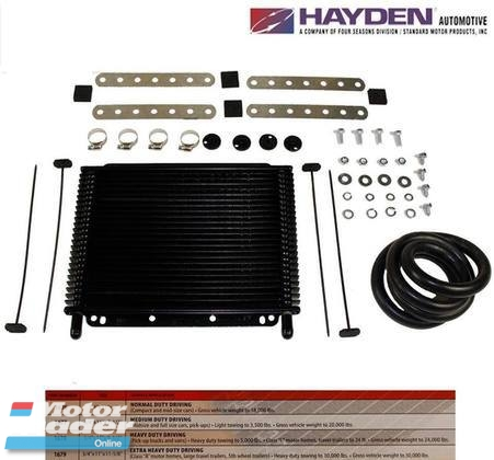 Auto Gearbox Transmission Oil Cooler New Hayden Transaver Plus 1678 Engine & Transmission > Transmission